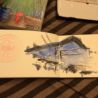 #bolígrafo #japon #inari #watercolor