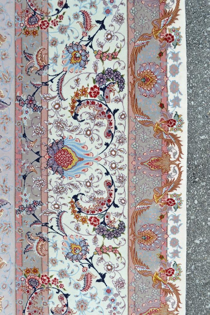 Benam Extremely Fine Msater Piece 70 Raj 9x12 Persian Tabriz Rug