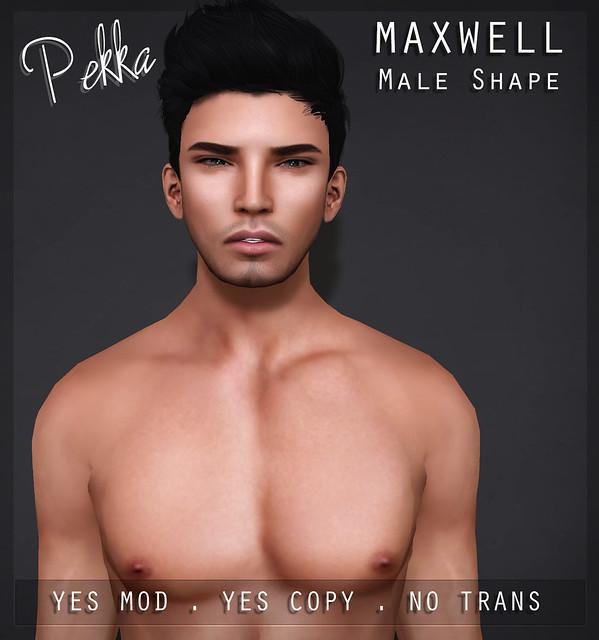 pekka maxwell male shape