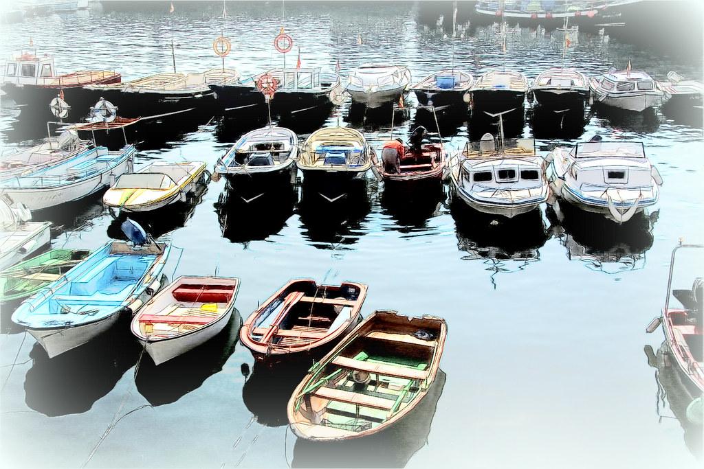botes, barcas...