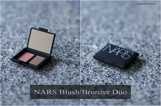 NARS mini blush bronzer duo