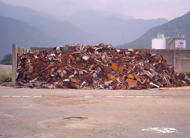 Iron scraps place