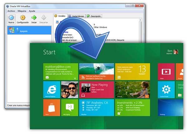 windows-8 virtual machine