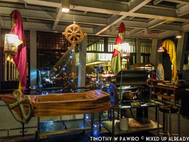 Bandung - Padma Hotel - The Restaurant - Kampung Nelayan (2)