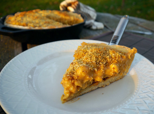 Mac & Cheese Monday - Deep Dish Mac & Cheese Pizza (0018)