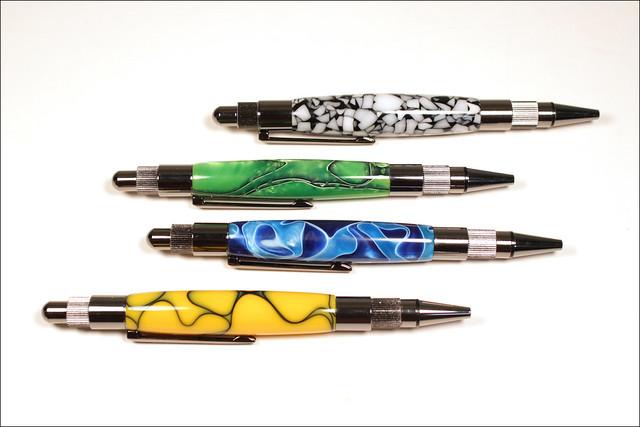 Four Bespoke Pens