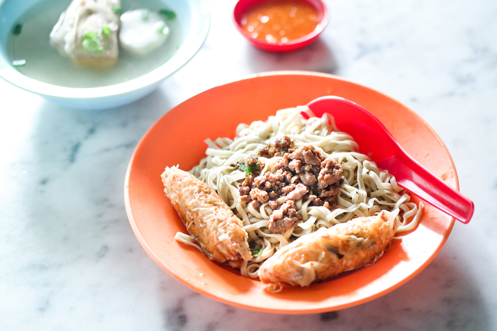 Ipoh Food Guide: Hakka Mee in a plate @ Restoran Cathay
