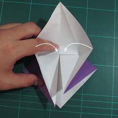 วิธีพับกระดาษเป็นรูปเต่าแบบง่าย (Easy Origami Turtle) 005