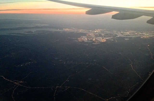 Dawn Over Antwerp
