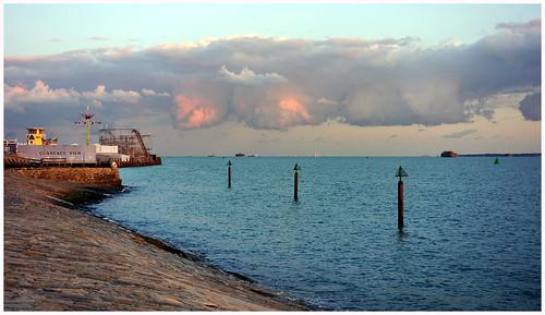clouds solent southsea southseaseafront rx100 clarencepierfunfair