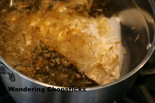 Nabeyaki Udon (Japanese Hot Pot Thick Noodle Soup) 3