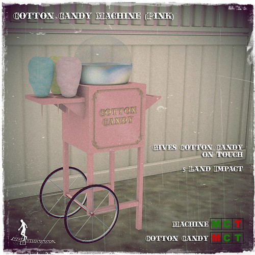Cotton Candy Machine (Pink)