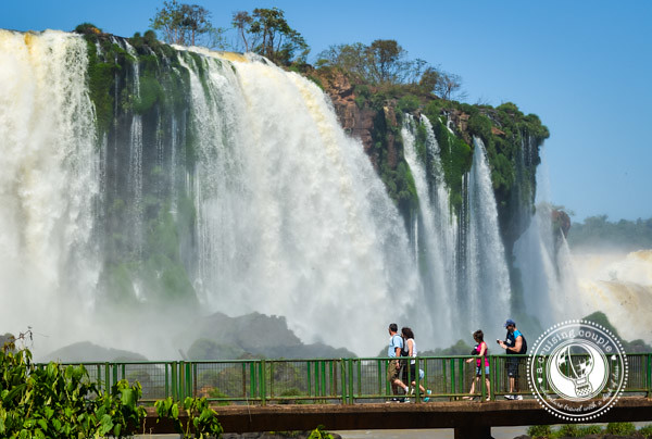 Iguazu Falls Brazil Boardwalk