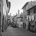 The Via Berignano at San Gimignano by Steve Barowik