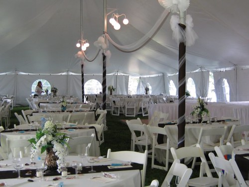 Reception Tent, Summerseat Farm, Mechanicsville, MD