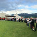 Panorama of prize giving ceremony