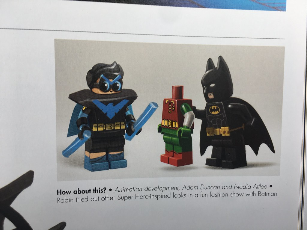 Making of the Lego Batman movie