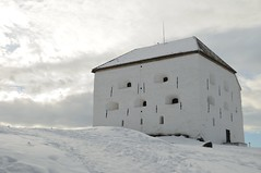 Kristiansten Festning in Snow