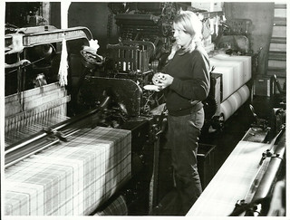 Blanket weaving at the Mosgiel Woollen Mill