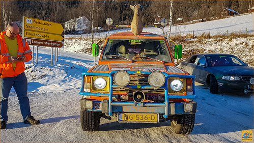 bergenhamar cr2017 carbagerun dzh dzh2017 dezwarehufters heiloo pajero scandinavië sponsoring stichtingdolfinn tb wintereditie sneeuw winter vestreslidre oppland noorwegen no