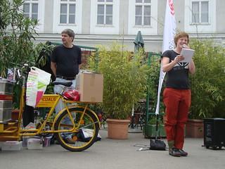 Clara Felis, BusBimSlam, Poetry Slam Wien