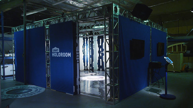 Lowe's Holoroom lets shoppers build 3D models of rooms