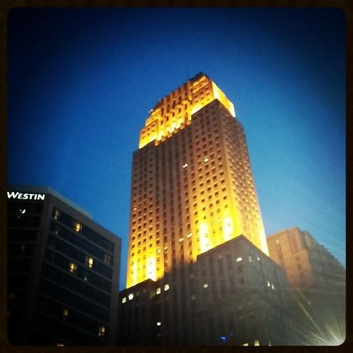 Carew Tower in downtown Cincinnati...