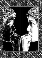 02 - Siri in the Mirror - Di Undici Foglie © Dino Olivieri (low res)