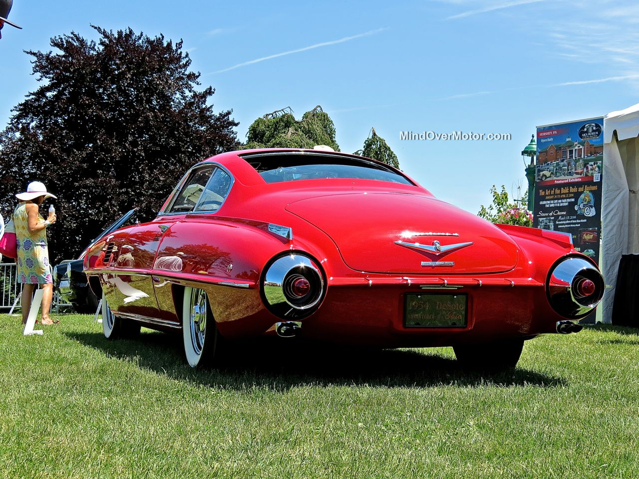 1954 Desoto Adventurer II Coupe at the Hershey Concours