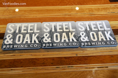 Steel & Oak Coasters