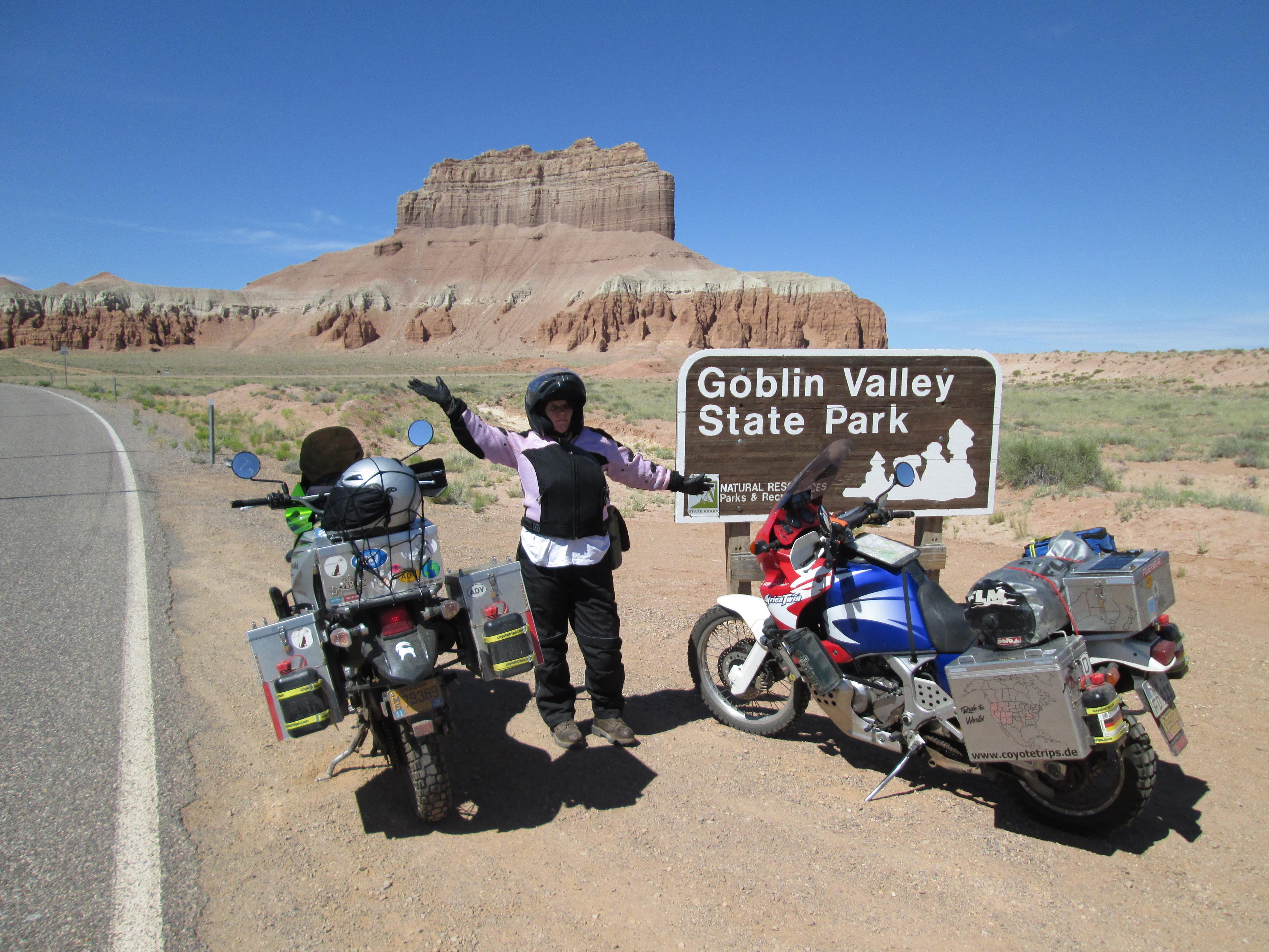 me at Goblin Valley
