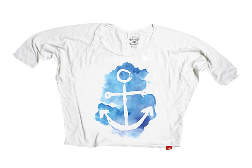 Maritime Shirt, Womens, Eco-friendly, Graphic