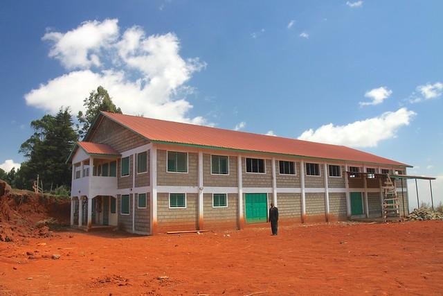 Murue Society building a new Dry Mill