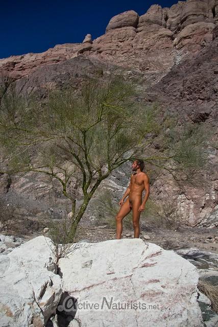 naturist 0003 Mecca Hills, California, USA