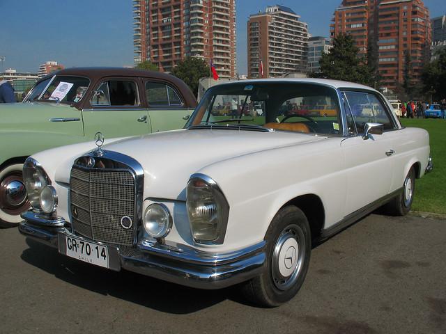 Mercedes Benz 220 SE Coupe 1965