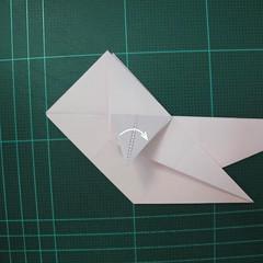 การพับกระดาษเป็นไดโนเสาร์ทีเร็กซ์ (Origami Tyrannosaurus Rex) 019