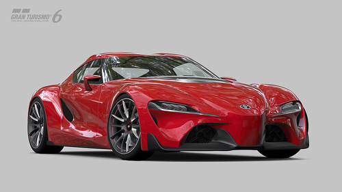 Gran Turismo 6 - Toyota FT-1 Concept Coupé