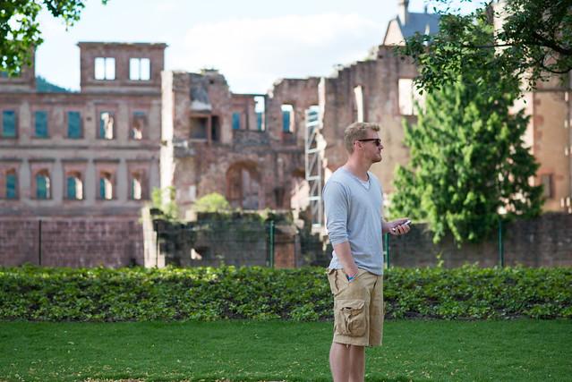 Heidelberg: los alemanes