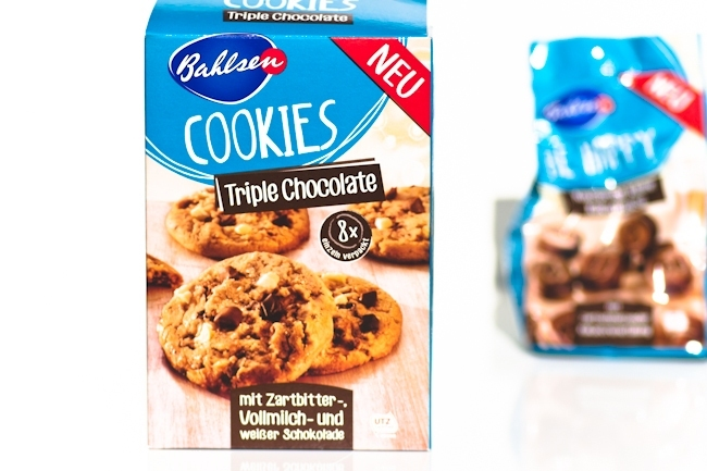 Inhalt Degustabox Mai, Bahlsen, Triple Chocolate Cookies