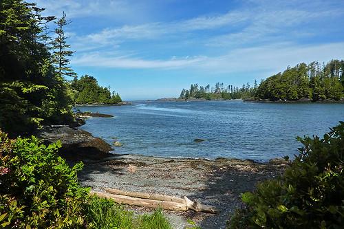 Terrace Beach in Ucluelet, West Coast Vancouver Island, British Columbia