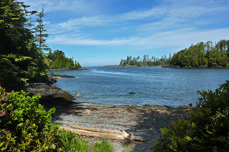 Terrace Beach in Ucluelet, West Coast Vancouver Island, British Columbia