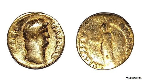 Gold coin of Nero