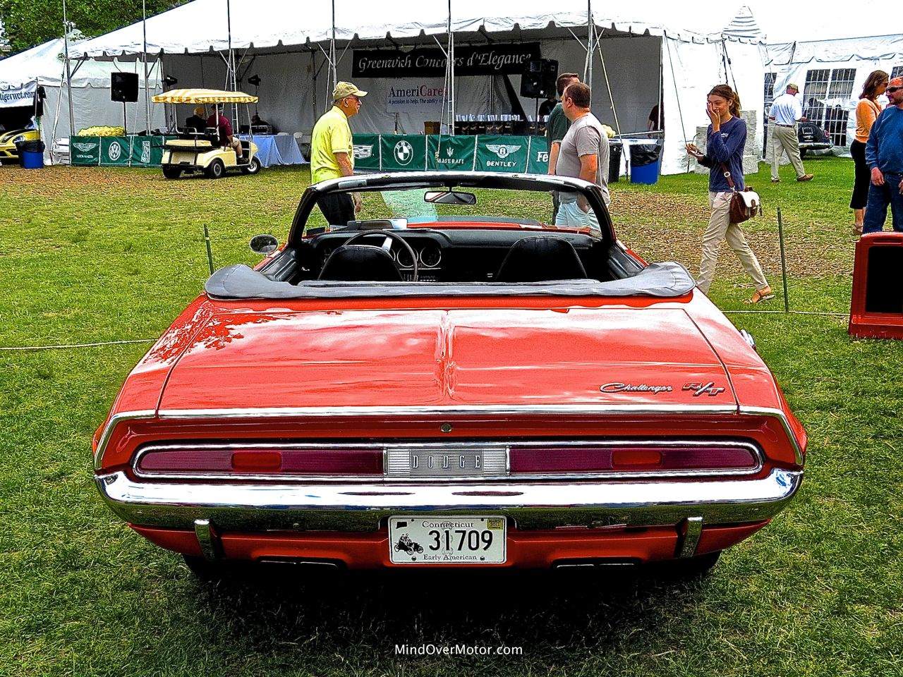 1970 Dodge Challenger R:T Convertible Rear