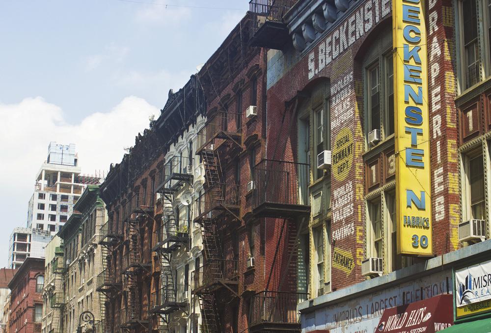Lower east side mott riving ton new york