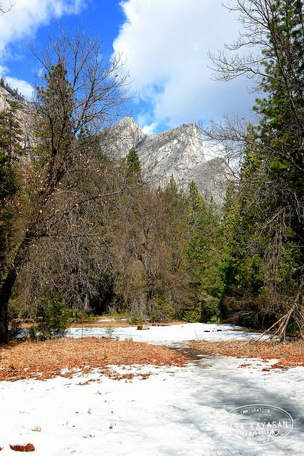 Three Brothers, Yosemite National Park, California, USA