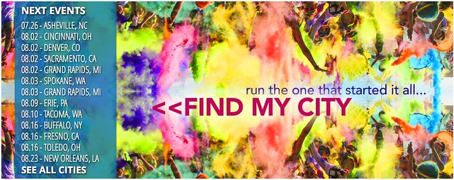 color run cities