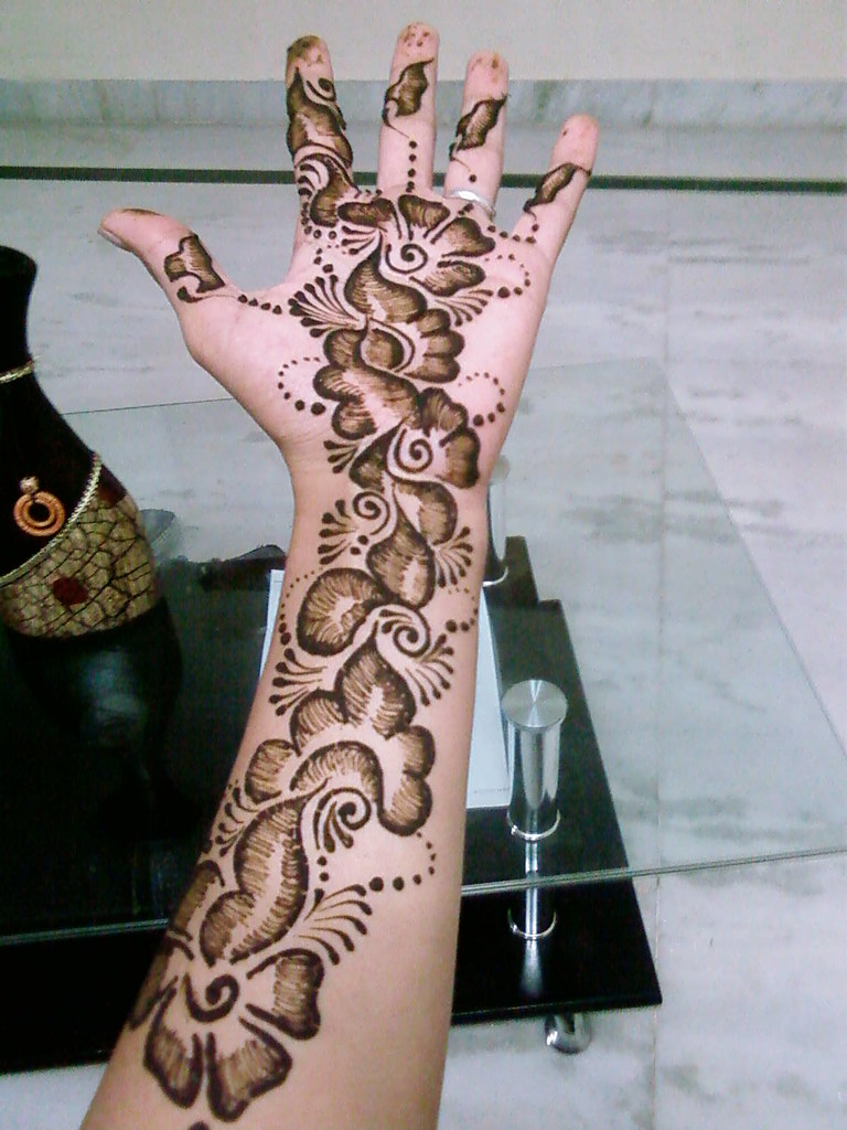 Mehndi design 2017 for bride -  Sheded Mehndi Designs 54 A Style Font Size
