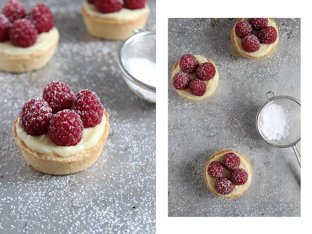 Food-♥: Tartelettes mit Himbeeren & Crème Patissière