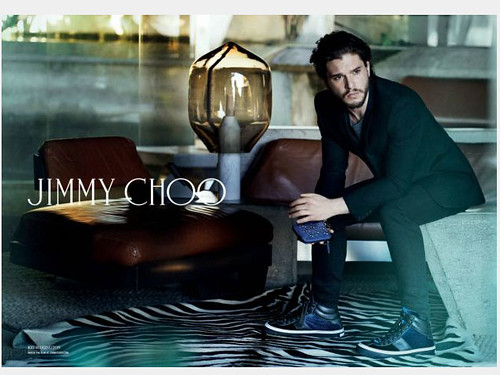 Kit Harington is the face of Jimmy Choo men's collections