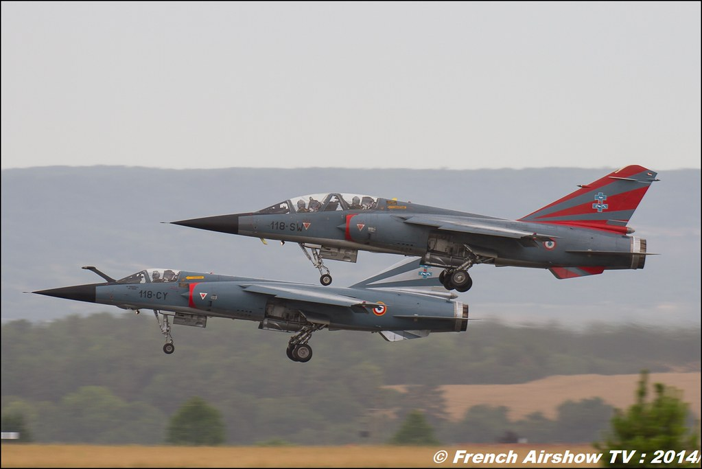 Patrouille Mirage F1, CAROL HOTEL , Meeting Aerien BA-133 Nancy Ochey 2014